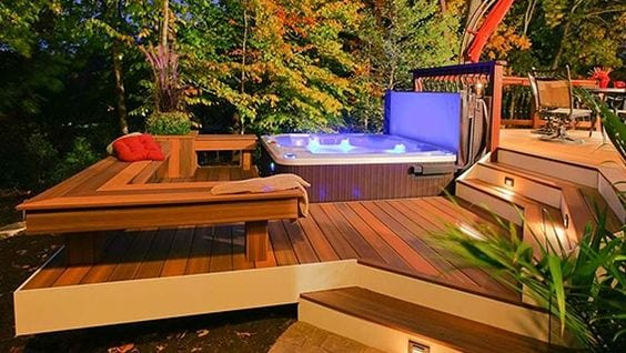 How to Enjoy Hot Tub Therapy's Health Benefits 1
