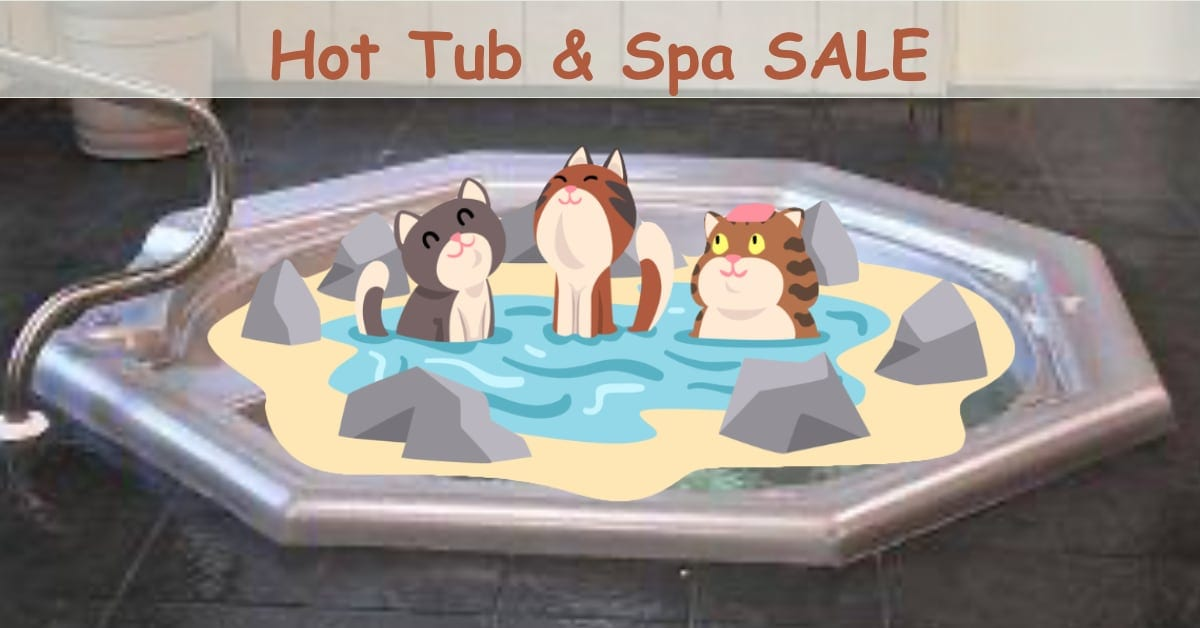 Hot Tub Sale Anniversary Special 2020