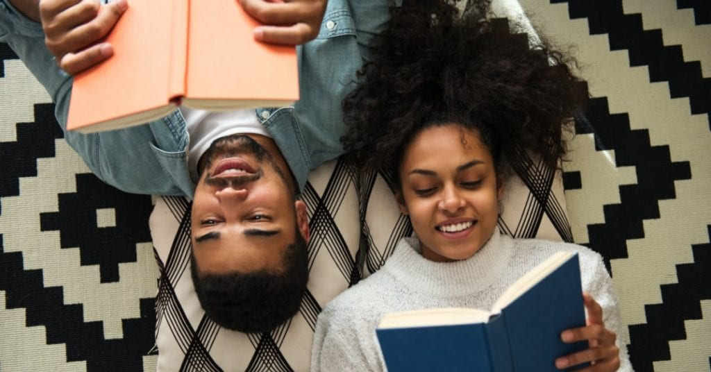 The 5 Best At-Home Winter Date Night Ideas, reading classics
