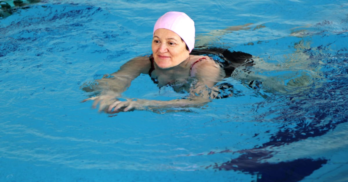 Swim Spa Exercises and Workout Routines